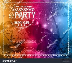 Summer Party Flyer For Music Club Events For Latin Dance ...