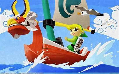 Zelda Legend Windwaker Waker Wind Nintendo Adventure
