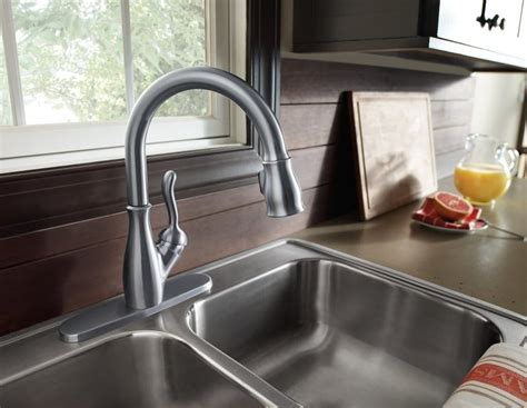 best kitchen sinks and faucets review delta 9178 ss dst leland bestkitchenfaucetshub 7725