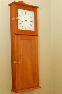 shaker wall clock kit woodworking projects plans With shaker wall clock kit