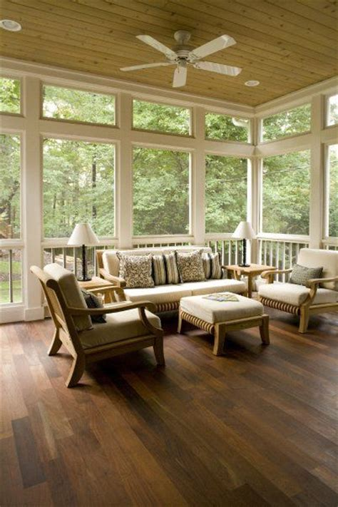 beautiful screened porches screened in porch the thick wood trim and the wood