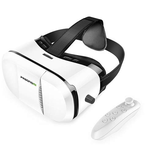 reality for android vr reality headset with bluetooth remote