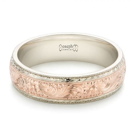 custom men s engraved wedding band 102431 seattle bellevue joseph jewelry