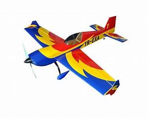 3d Aerobatic Flight Electric Rc Airplane Ep 4ch Arf Extra