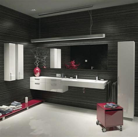 cuisine blanche et bleue salle de bain design scandinave