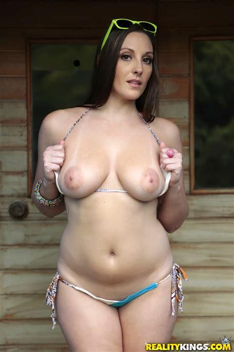 Busty Brunette Is Sucking Her Friend S Cock Photos Melanie Hicks MILF Fox
