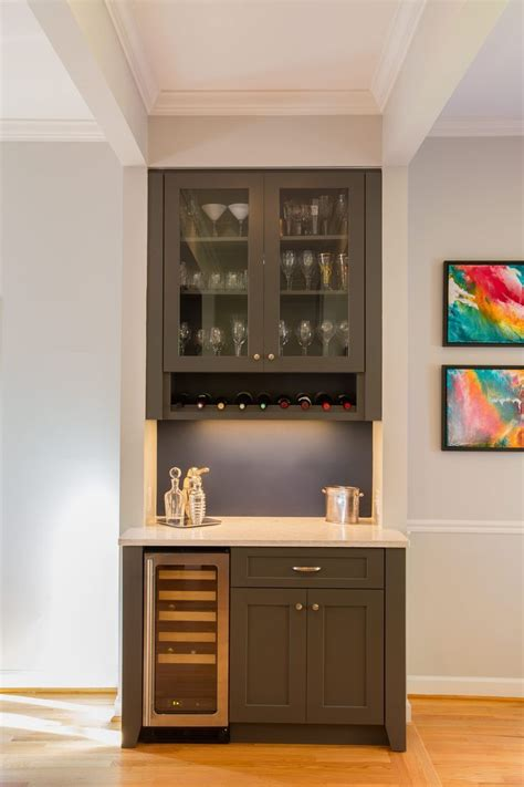 tips  build modern bar cabinet designs  home small