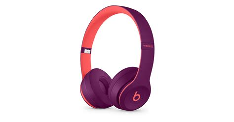 Beat Pop Image by Beats Solo3 Wireless 头戴式耳机 Pop 红 Beats Pop Collection