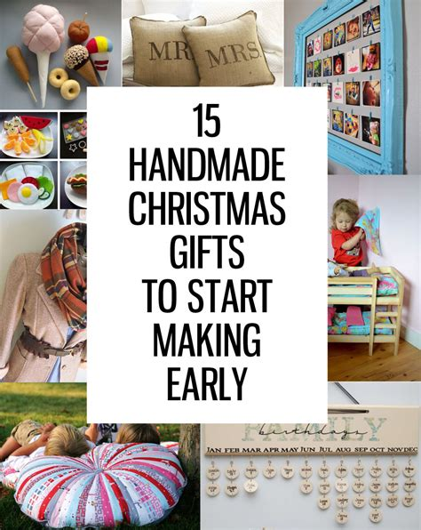 handmade christmas ideas 15 handmade christmas gifts to start making now honeybear lane
