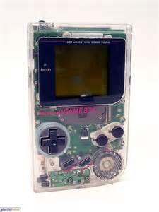 Nintendo Game Boy Transparent