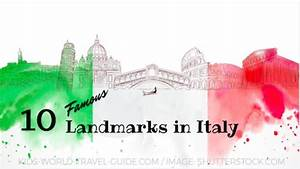 Italy Landmarks | Italy Attractions for Kids | Geography ...