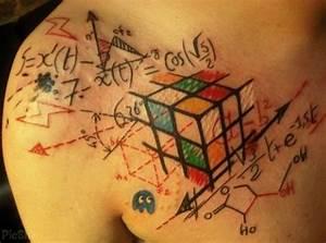 Rubik's Cube Tattoo   Cool tattoos   Pinterest   Tattoos ...