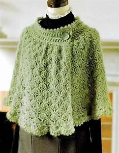 Crochet Diagrams Vintage Capes