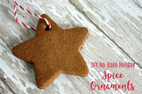 no bake christmas ornaments diy spice ornament craft for fall and decorating ruffles and boots