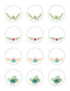 free printable stickers time floral labels the