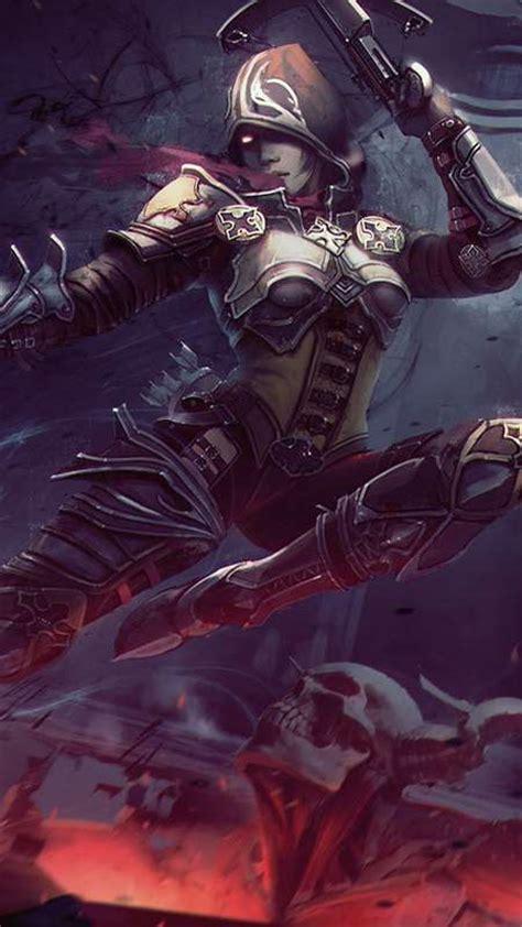 diablo  reaper  souls fan art wallpapers  desktop
