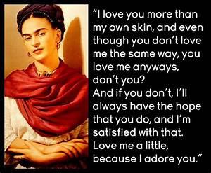 Frida-Kahlos | ... Frida Kahlo Love Quotes