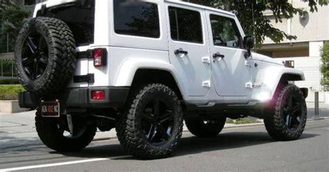 white jeep black rims  cool  pinterest