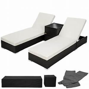 Chaise Longue Bain De Soleil : chaise longue transat bain de soleil en aluminium poly ~ Dailycaller-alerts.com Idées de Décoration