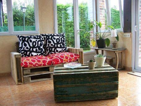 faire un canapé avec des palettes que faire avec des palettes kourgette