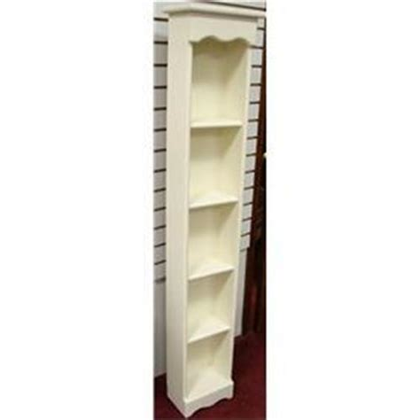 tall narrow white bookcase 2100 tall narrow white wood bookcase