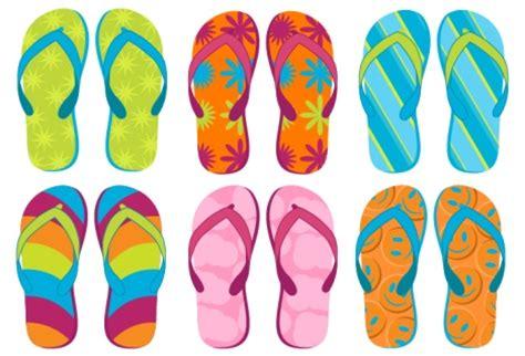 flip flop design flip flops vector