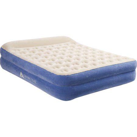 air mattress walmart ozark trail elevated air bed walmart
