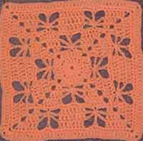 autumn throw blanket 250 free crocheted square patterns at allcrafts