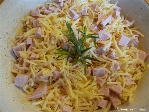 decoration de salade sur assiette salade de gruy 200 re 192 l alsacienne les bons restaurants