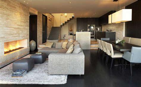 Offene Küche Wohnzimmer Modern by Moderne Offene K 252 Chen Mit Wohnzimmer Und Esszimmer
