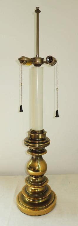 stiffel brass candlestick l brass candlestick stiffel table l for sale at 1stdibs