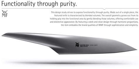 Wmf Kitchen Knives by Cuts Like A Knife Yanko Design