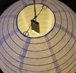 ciel lanterne lampions and led on pinterest With kitchen cabinets lowes with deco boule papier