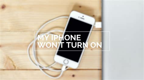 what to do if my iphone wont turn on my iphone won t turn on here s the real fix