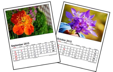 photo calendar digital photography tutorials