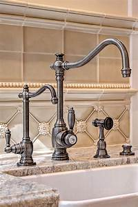 Waterstone annapolis kitchen faucet 4200 for Kitchen colors with white cabinets with buddha 3 piece wall art