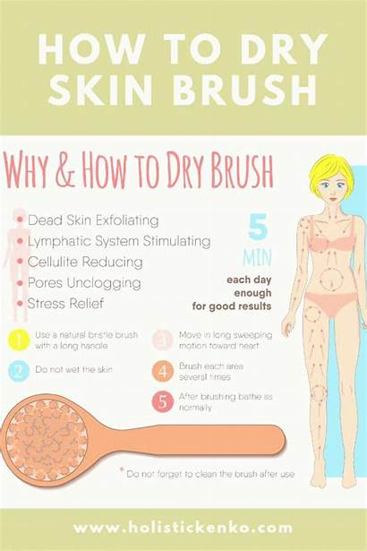 Brushing Lymphatic Skin Dry System Health