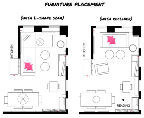 floor l placement l shaped living room furniture layout home design