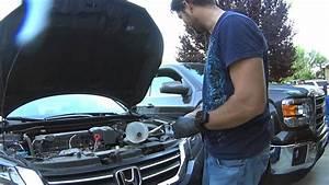 Honda Accord 2013   Manual Transmission Fluid Change