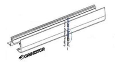 Omnistor 5002/5003 Awning Outside Lead Rail Aluminium 3.0m