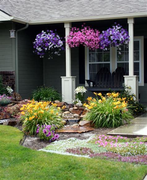 Backyard Flower Garden Design by 22 Flower Pot Garden Designs Decorating Ideas Design