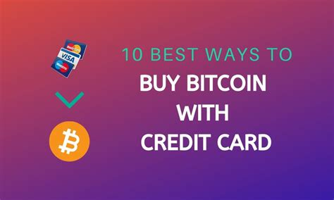 But beware, those looking to buy bitcoin with a credit card may not know which services they can trust, and which are the best fit for their needs. Buy Bitcoin   Buy BTC   Buy Bitcoin with Credit Card ...