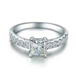 engagement rings on sale 1 00 carat princess cut engagement ring on sale jeenjewels