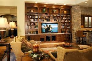 country kitchen paint color ideas media library wall traditional family room