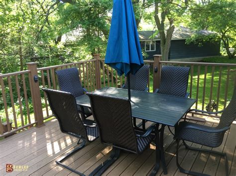 menards deck builder menard s ultra deck composite greenfield wi tbg