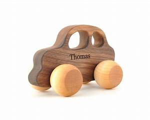 any personalized wooden car wooden toy for babies by With best wooden toys for babies