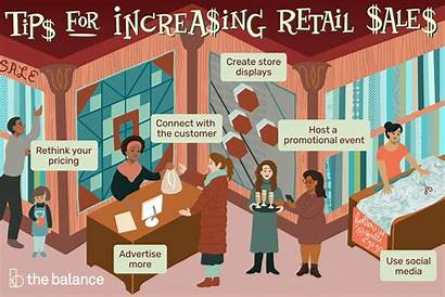Retail Sales Increase Ways Display Thebalancesmb Point