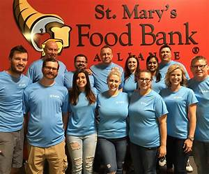 TruPath Volunteers at St. Mary's Food Bank Alliance ...