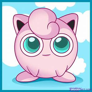How to Draw Jigglypuff, Step by Step, Pokemon Characters ...