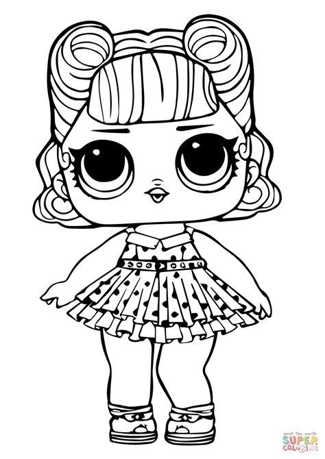 coloring page mermaid lol surprise doll merbaby coloring